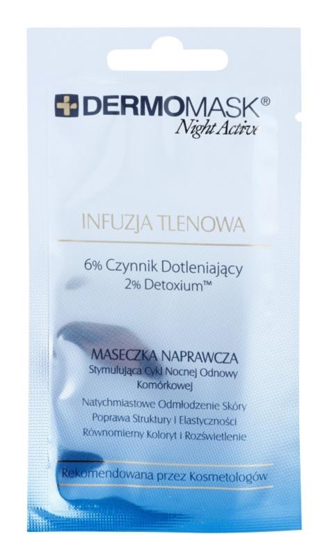 L'biotica DermoMask Night Active okysličujúca maska