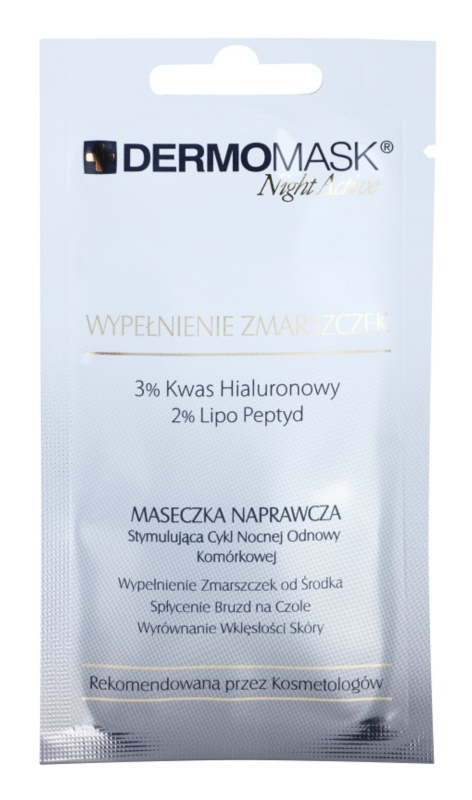 L'biotica DermoMask Night Active Anti-Wrinkle Filling Face Mask To Treat Deep Wrinkles