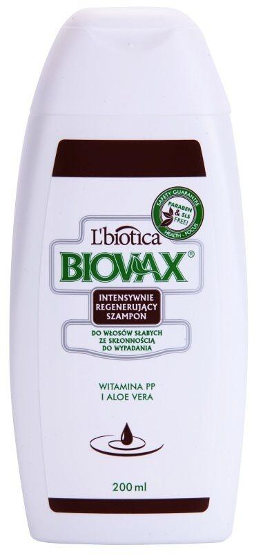 L'biotica Biovax Falling Hair szampon wzmacniający przeciw wypadaniu włosów