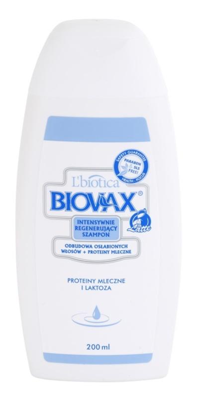 L'biotica Biovax Weak Hair nährendes Shampoo für geschwächtes Haar