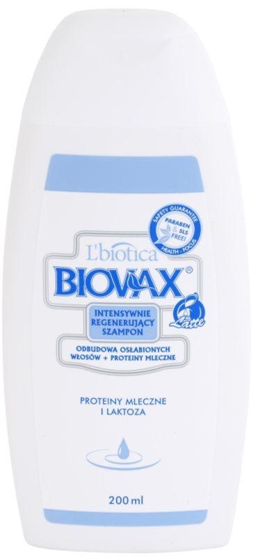 L'biotica Biovax Weak Hair tápláló sampon meggyengült hajra
