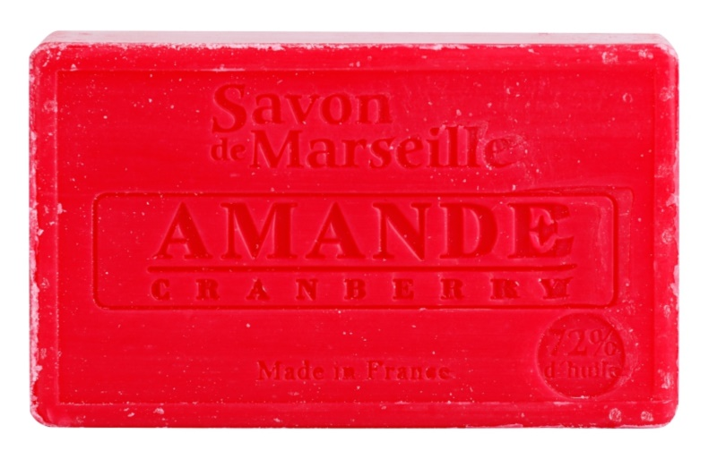 Le Chatelard 1802 Almond Cranberry Luxurious Natural French Soap