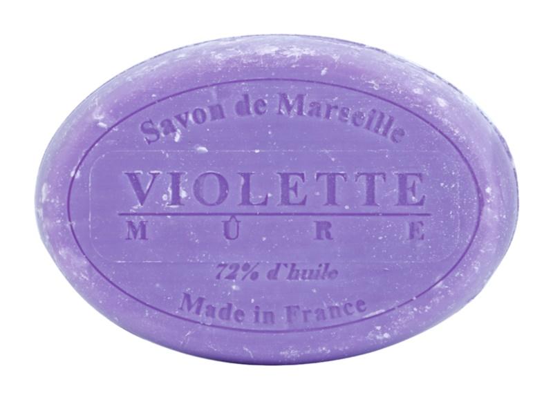 Le Chatelard 1802 Violet & Blackberry jabón natural francés redondo