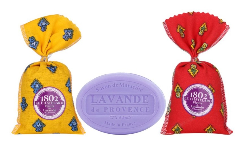 Le Chatelard 1802 Lavender from Provence Cosmetic Set IV.