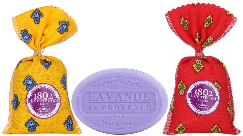 Le Chatelard 1802 Lavender from Provence kozmetická sada IV.