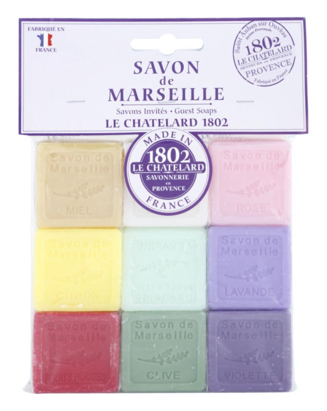 Le Chatelard 1802 Natural Soap coffret II.