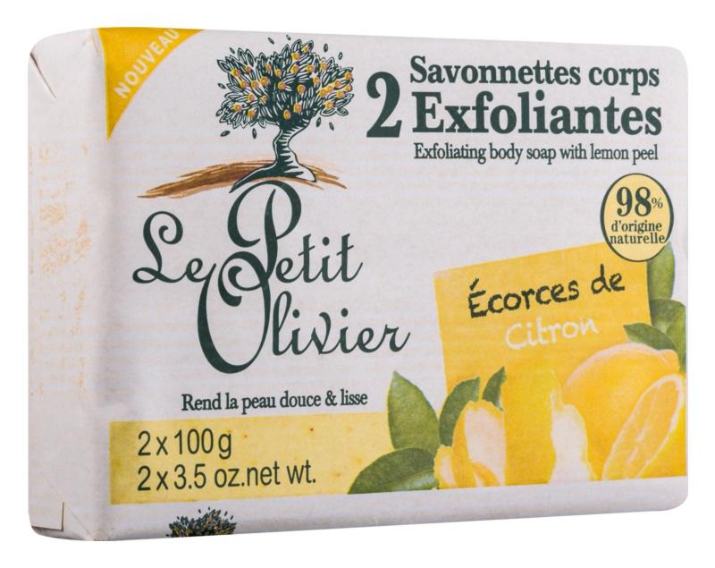 Le Petit Olivier Lemon peelingové mýdlo