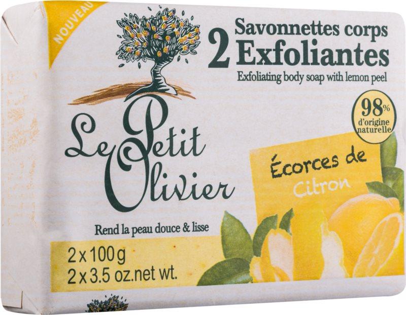 Le Petit Olivier Lemon мило - пілінг