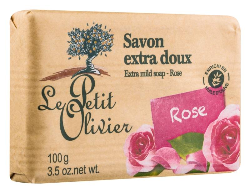 Le Petit Olivier Rose Extra Mild Soap