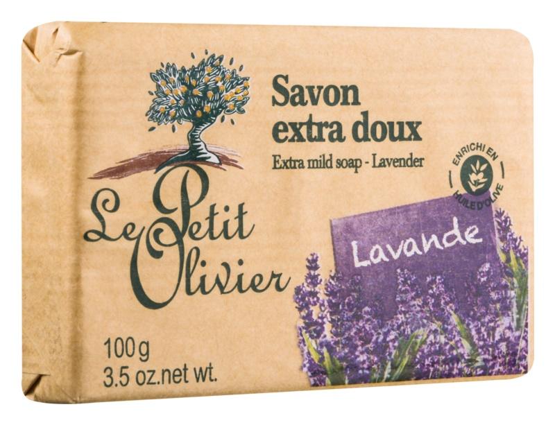 Le Petit Olivier Lavender extra jemné mýdlo