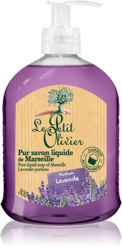 Le Petit Olivier Lavender tekuté mydlo