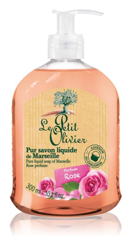 Le Petit Olivier Rose рідке мило