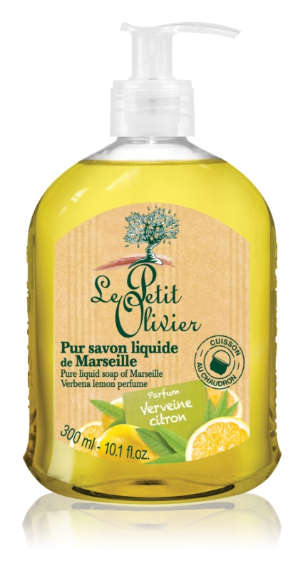 Le Petit Olivier Verbena & Lemon Liquid Soap