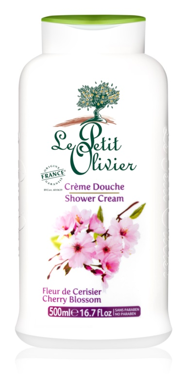 Le Petit Olivier Cherry Blossom Shower Cream