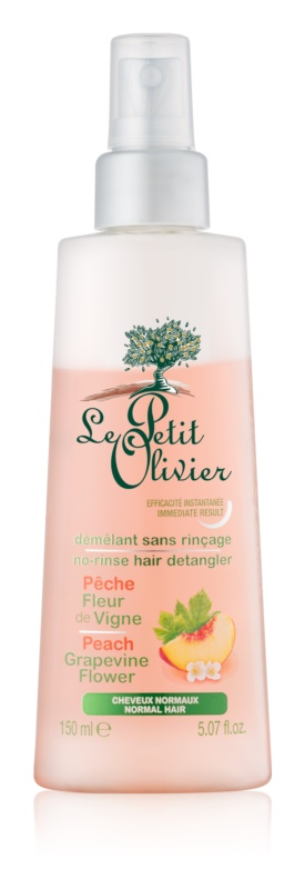 Le Petit Olivier Peach & Grapevine Flower Leave - In Spray Conditioner
