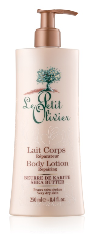 Le Petit Olivier Shea Butter ultra hydratačné telové mlieko
