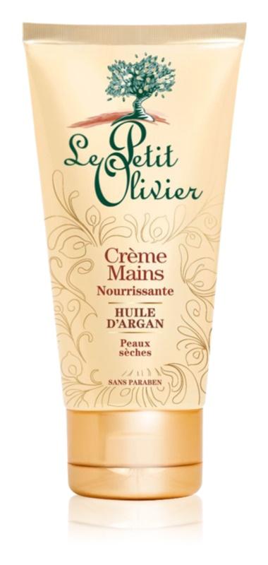 Le Petit Olivier Argan Oil feuchtigkeitsspendende Creme für die Hände