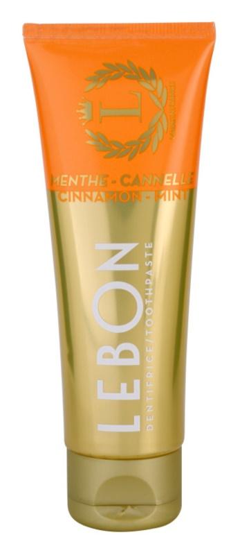 Lebon Menthe - Cannelle pasta do zębów