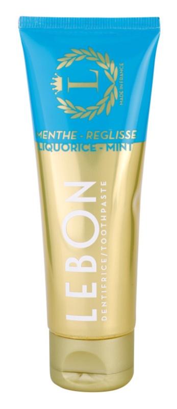 Lebon Menthe - Reglisse Zahnpasta
