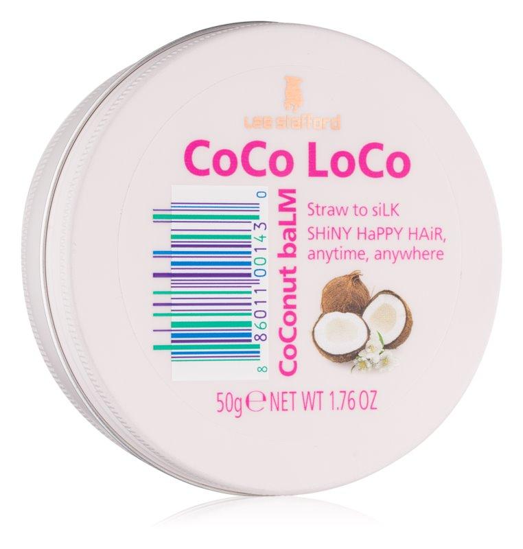 Lee Stafford CoCo LoCo balzám na vlasy pro suché a poškozené vlasy