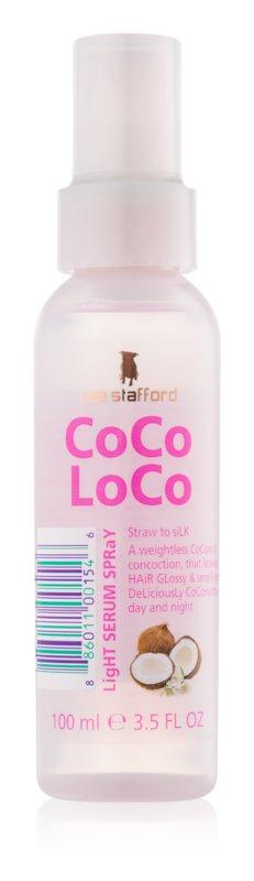Lee Stafford CoCo LoCo bezoplachové sérum ve spreji