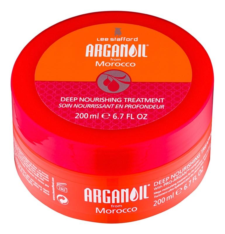 Lee Stafford Argan Oil from Morocco máscara nutritiva para alisamento de cabelo