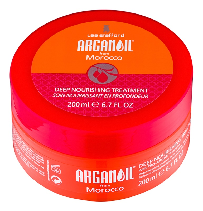 Lee Stafford Argan Oil from Morocco mascarilla nutritiva para alisar el cabello