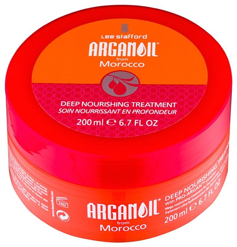 Lee Stafford Argan Oil from Morocco поживна маска для вирівнювання волосся