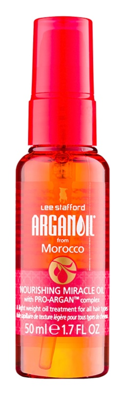 Lee Stafford Argan Oil from Morocco odżywczy olejek do wszystkich rodzajów włosów