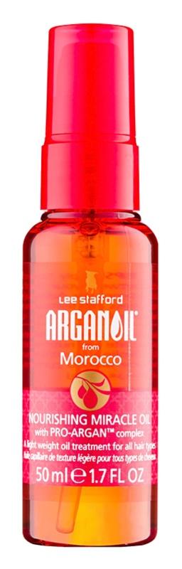 Lee Stafford Argan Oil from Morocco Voedende Olie  voor Alle Haartypen