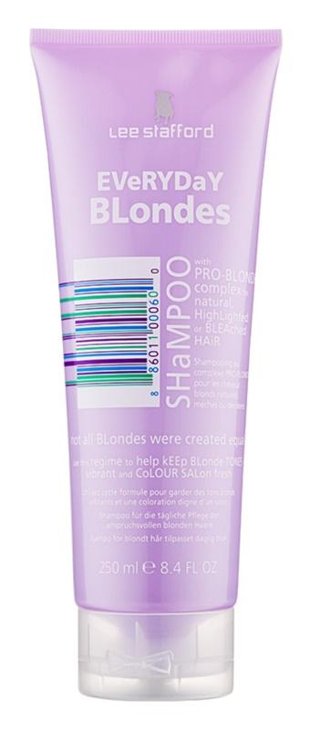 Lee Stafford Bleach Blondes champô para todos os tipos de cabelo loiro