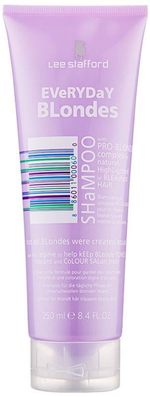 Lee Stafford Bleach Blondes Shampoo für alle blonde Haartypen