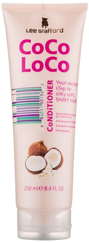 Lee Stafford CoCo LoCo kondicionér s kokosovým olejom na lesk a hebkosť vlasov