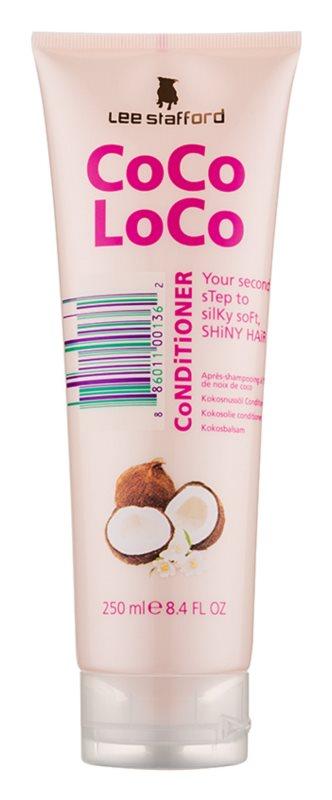 Lee Stafford CoCo LoCo odżywka z olejem kokosowym do nabłyszczania i zmiękczania włosów