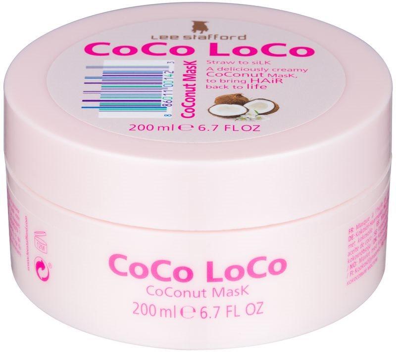 Lee Stafford CoCo LoCo маска для волосся з кокосовою олійкою