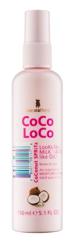 Lee Stafford CoCo LoCo öblítést nem igénylő hidratáló ápolás spray -ben