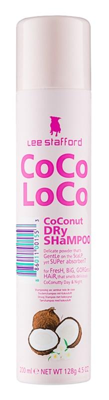 Lee Stafford CoCo LoCo Droog Shampoo voor Absorbatie van Overtollig Vetaanmaak en voor Fris Haar
