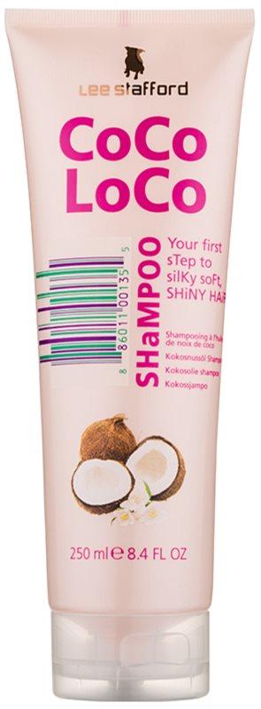 Lee Stafford CoCo LoCo șampon cu ulei de nucă de cocos pentru un par stralucitor si catifelat