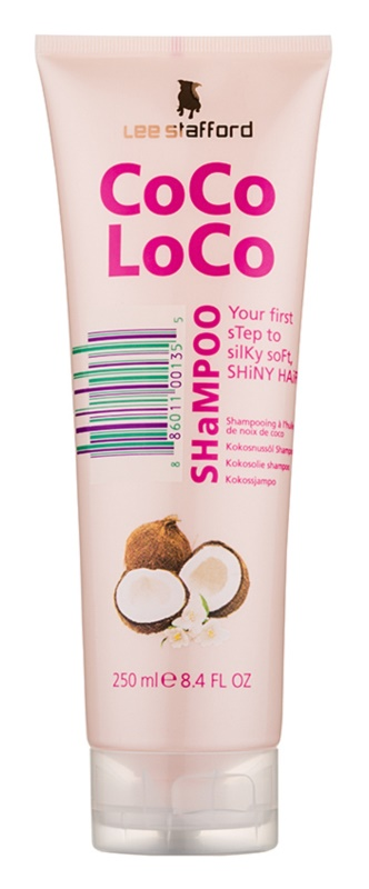 Lee Stafford CoCo LoCo Shampoo with Coconut Oil for Shiny and Soft Hair