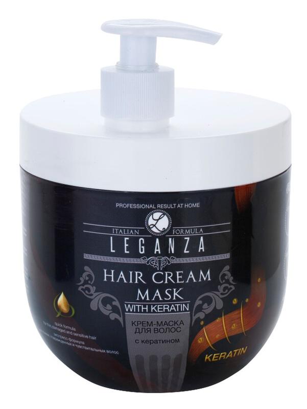 Leganza Hair Care Creme-Maske mit Keratin