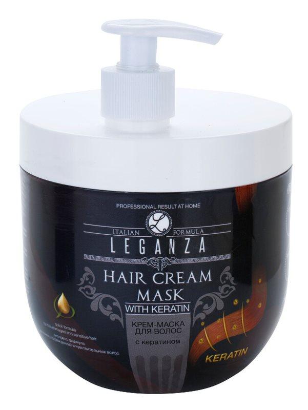 Leganza Hair Care masca sub forma de crema cu keratina