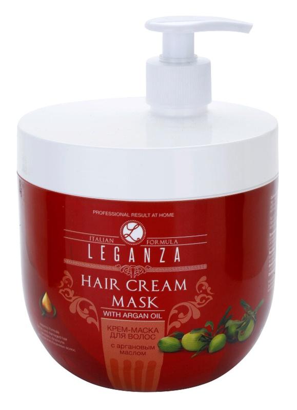 Leganza Hair Care krémes maszk argánolajjal