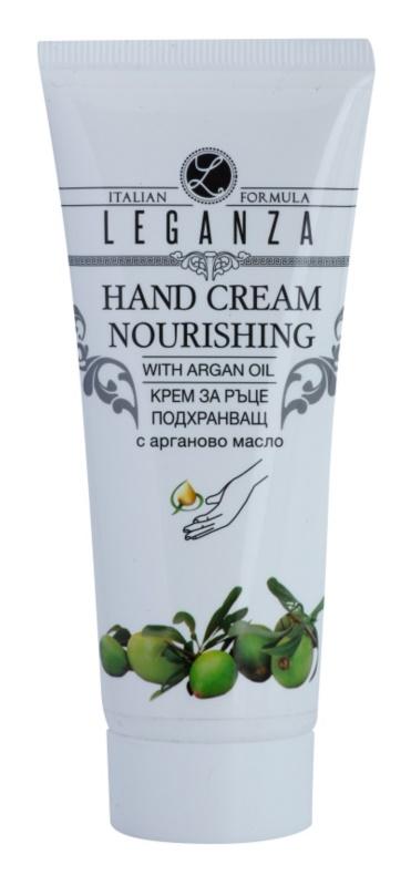 Leganza Argan Oil crema nutritiva para manos