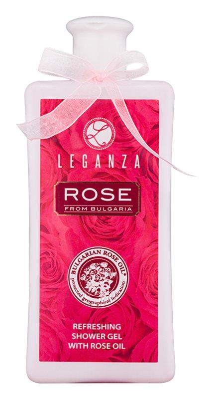 Leganza Rose gel de dus revigorant