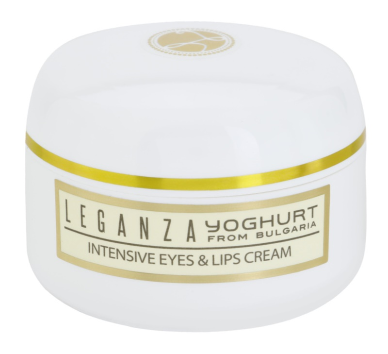 Leganza Yoghurt Intensive Cream For Eye Area And Lips