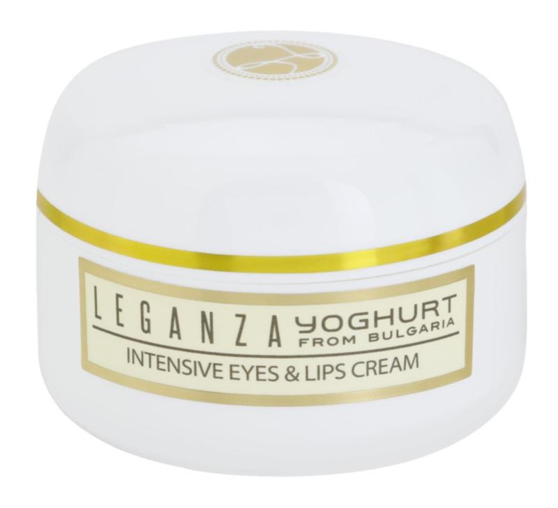 Leganza Yoghurt intensive Creme Für Lippen und Augenumgebung