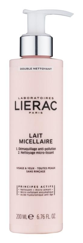 Lierac Démaquillant micelární mléko na obličej a oči