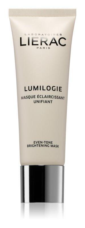 Lierac Lumilogie maska za posvetlitev za poenotenje tona kože