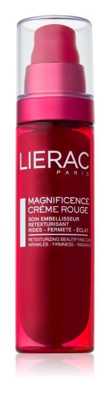 Lierac Magnificence ránctalanító élénkítő krém egységesíti a bőrszín tónusait