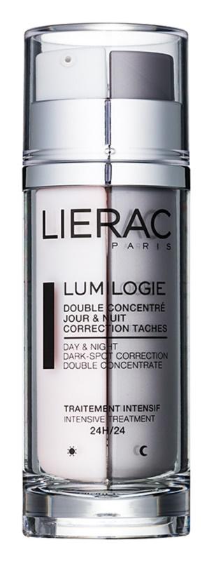 Lierac Lumilogie dvoufázový rozjasňující koncentrát na den i noc proti pigmentovým skvrnám